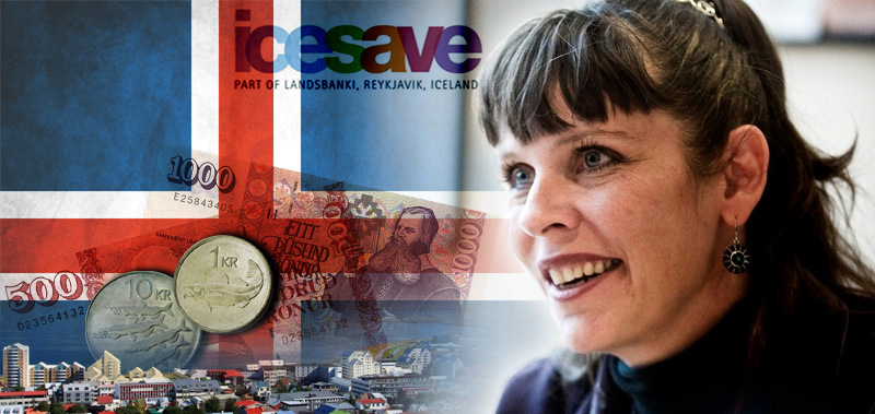 Islandska aktivistka in poetičarka Birgitta Jónsdóttir