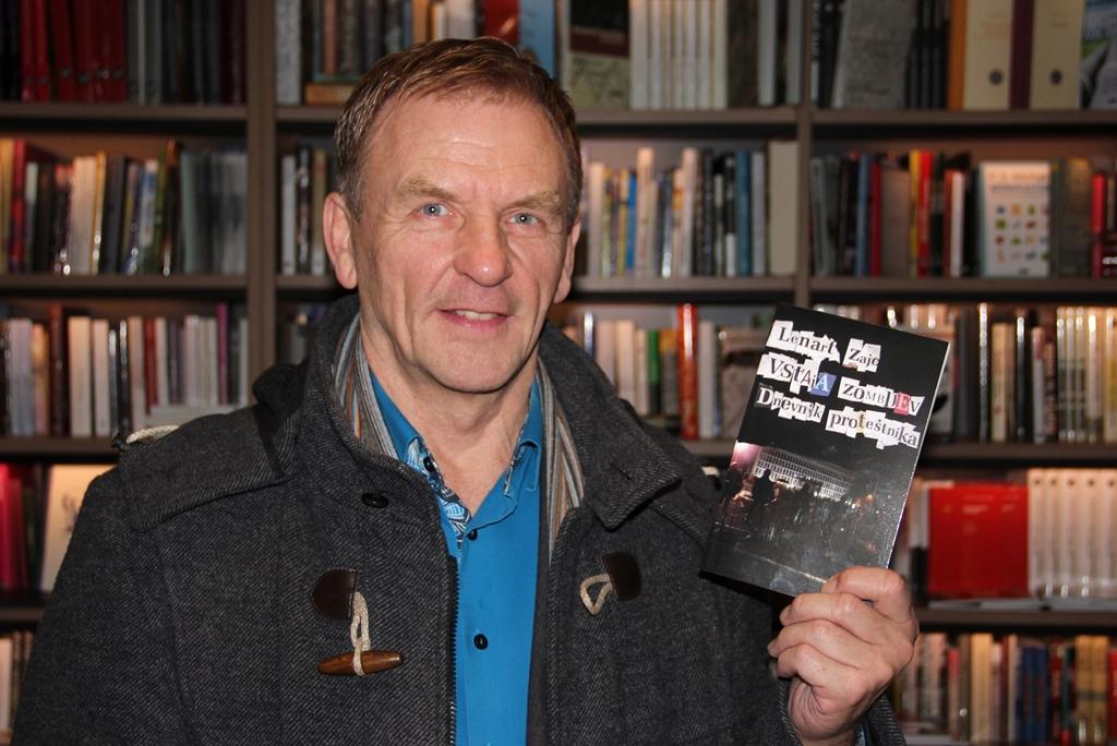 Prvi aktivni državljan Islandije, Hoerdur Torfason, v Sloveniji